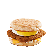 Spicy Chicken McMuffin® with Egg