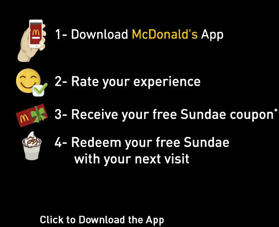 Rate Your Visit | McDonald's Egypt